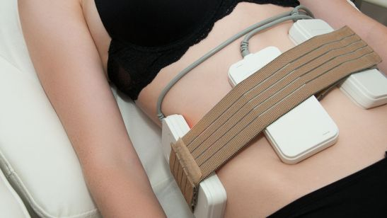 One of our clients having a 3d lipo treatment